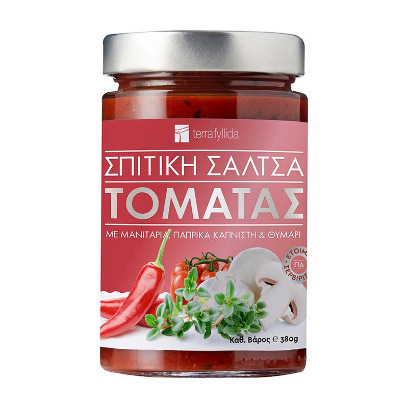 Σάλτσα-τομάτας-μανιτάρι-καπνιστή-πάπρικα-θυμάρι