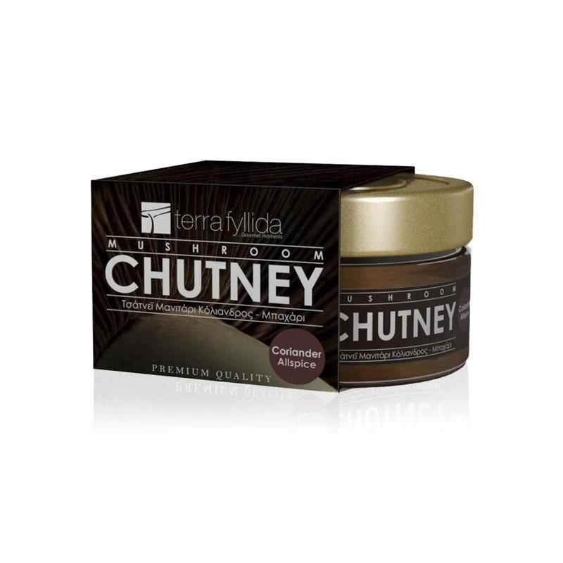 Chutney-Μανιτάρι-Πλευρώτους-κόλιανδρο-μπαχάρι
